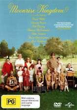 Moonrise Kingdom NEW DVD (Region 4 Australia) Tilda Swinton Owen Wilson