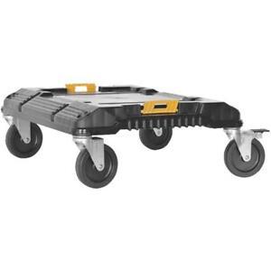 "(1)-Dewalt 17"" W X 19"" L TSTAK Tool Storage Container 4 Wheel Cart DWST17889"