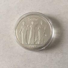 St Marin 1 pièce de 5 € en argent 2003 Trois Grâces