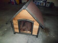 Wooden Pet Dog Kennel House Large Timber Home Cabin