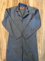 NAVY BLUE New Red Kap CT10 COVERALLS U Choose Color /& Size Zip Up Jumpsuit