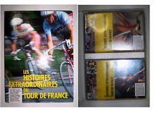 COFFRET 2 VHS GEMKA LES HISTOIRES EXTRAORDINAIRES DU TOUR DE FRANCE
