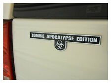 Zombie Apocalypse Edition - Chrome Plated Emblem