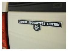 Zombie Apocalypse Edition - Chrome Plated Emblem