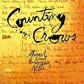 August and Everything After by Counting Crows (CD, Sep-1993 Geffen)NO JEWEL CASE