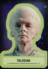 Star Trek TOS 40th Anniversary Series 2 Star Trek Stickers Chase Card S11
