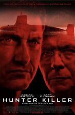 HUNTER KILLER (2018) (DS) LARGE MOVIE POSTER-27X40 GARY OLDMAN, MICHAEL NYQVIST
