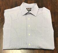 NWOT KIRKLAND SIGNATURE MEN'S NON-IRON TAILORED FIT DRESS SHIRT - 16.5-32/33 LG