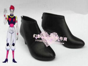 NEW! HUNTER×HUNTER Hisoka cosplay shoes boots Custom-Made