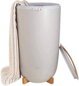 Zadro Luxury Towel Warmer Auto Shut-off Gray Finish Large 4 Settings NEW $0 S&H