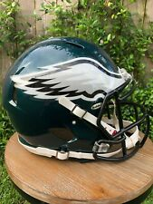 New Philadelphia Eagles Riddell Revolution Speed Football Helmet & Facemask