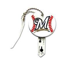 Milwaukee Brewers Key Jacket Holder for Keys on Keychain MLB New