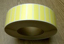 "1.75""x0.5"" YELLOW Thermal Transfer Paper FILE Labels,5000/roll,3""core-ribbon req"
