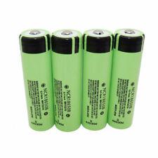 4X 18650 Batería 3400mAh Alto Consumo Baterías de Li-ion Recargable NCR botón superior