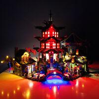 LED light up kit for LEGO Ninjago Temple of Airjitzu 70751 lighting bricks set
