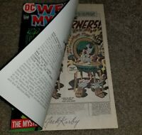 1 DC Comic Weird Mystery 3 VF Bronze 12/72 .20 cents signed JACK KIRBY key book