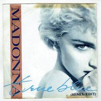 """MADONNA Vinyle 45 tours 7"""" TRUE BLUE - HOLIDAY - SIRE 928550-7 EX RARE"""