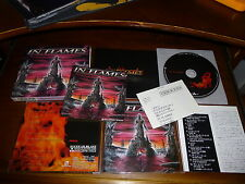 In Flames / Colony JAPAN+2 w/Booklet Sticker 1ST PRESS!!!!!!!! B8