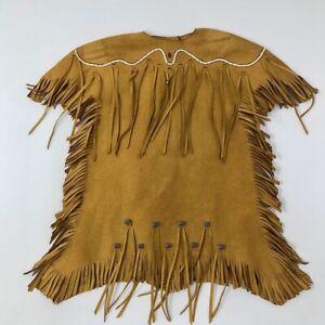American Girl Meet Kaya Native Doll Outfit Indian Fringe Dress