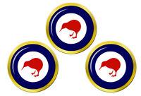 Nouvelle Zélande Cocarde Marqueurs de Balles de Golf