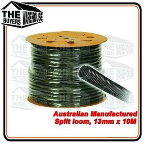 100% Premium Australian Made Split Loom Tubing Wire 13mm Conduit Cable 10m UV