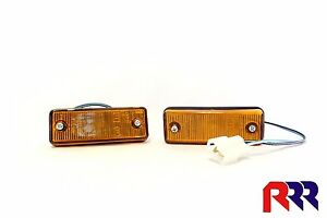 NEW GUARD FLASHER BLINKER INDICATOR FORD COURIER PC 6/85-3/96 PAIR (LH + RH)