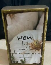 Wen By Chaz Dean Fall Vanilla White Pumpkin Cleansing Conditioner 16oz New Box