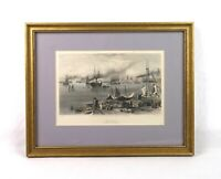 Antique 19th Century View of New Orleans Vintage Lithograph Print Appleton 1873