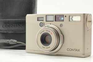 CONTAX Tix Carl Zeiss Sonnar T* 28mm f/2.8 APS Film Camera JAPAN [Near MINT]