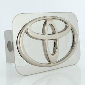 Toyota Logo Hitch Cover Plug (Chrome)