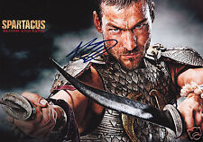 ANDY WHITFIELD - SPARTACUS AUTOGRAPH SIGNED PP PHOTO POSTER