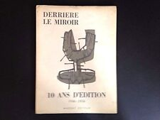 Derriere le Miroir 92-93, Miró, Chagall, Giacometti lithos, 1956 vintage INV2095