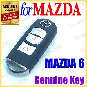 MAZDA 6 SMART KEY REMOTE / PROXIMITY KEY - 3 BUTTONS - GJ SERIES
