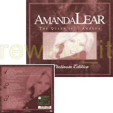 "AMANDA LEAR ""THE QUEEN IS"" 3 CD ITALY DIGIP. PLATINUM EDITION"