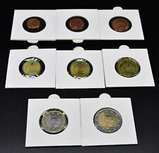 LUXEMBOURG  2012 : série 1 cent à 2 euro. UNC