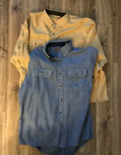 clearwater outfitters shirts Mens Large Long Sleeve Button Up Lot Of 2