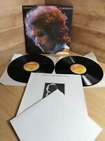 BOB DYLAN AT BUDOKAN 1987 S CBS 83691 STEREO - BOOKLET AND POSTER