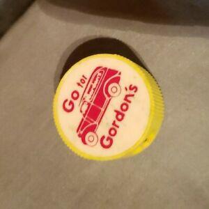 Go For Gordon's Potato Chip Pencil Sharpener Yellow Promo Vintage Rare