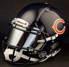 ***CUSTOM*** CHICAGO BEARS Full Size NFL Riddell SPEED Football Helmet