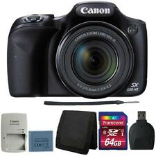 Canon PowerShot SX530 HS Digital Camera with 64GB Deluxe Accessory Bundle