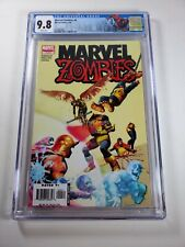 MARVEL ZOMBIES #4 CGC 9.8 COVER HOMAGE! MARVEL Rare Book!