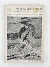 Big Bend Of The Rio Grande Guidebook 7 Univ Texas Austin Vintage 1971 Maps Topo