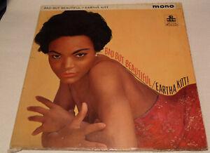 Eartha Kitt - Bad But Beautiful 1962 UK MGM C 878 Mono Vinyl LP Album