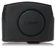 Limited Canon Red Line Black Leather Case Rl Cc-G04 for PowerShot G5 X