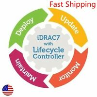 Enterprise License Fit For Dell PowerEdge iDRAC7 R720XD R320 R420 R520 R620 R820