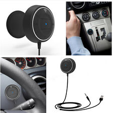 Hands Free Wireless Bluetooth Car Phone Mobile Charger Magnetic Base AUX Speaker