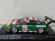 Minichamps 1:43 2005 PORSCHE 911 GT3 Cup 24hr DAYTONA ..mint boxed..