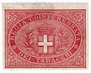 (I.B) Italy Revenue : Tobacco Duty Seal (Nazionali)