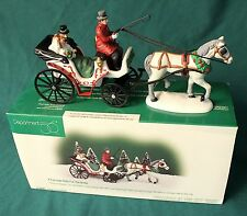 Dept 56. A CARRIAGE RIDE FOR THE BRIDE, CHRISTMAS IN CITY, #58901 MINT COND. NR