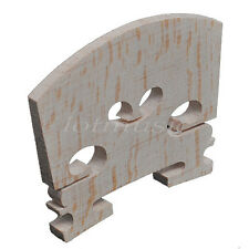 10pcs Violin Bridge 3/4 Size Maple Wood Violin parts